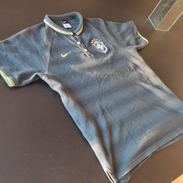 Camisa polo nike seleção brasileira