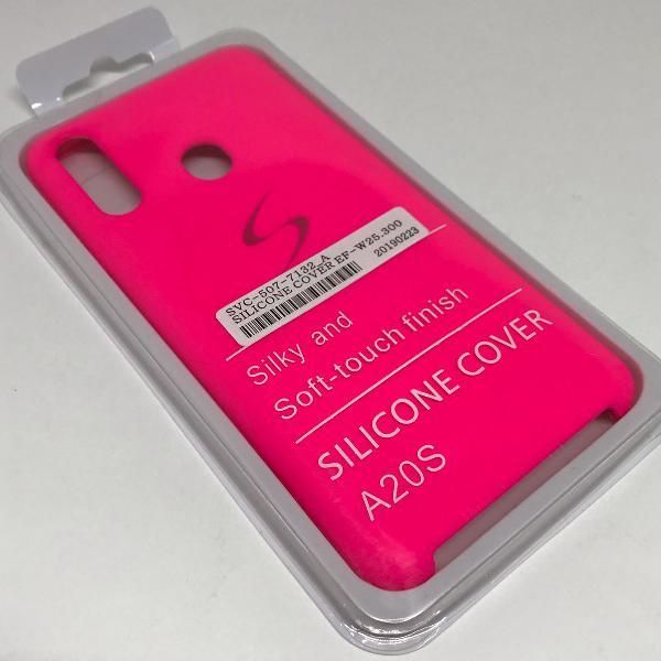 Capinha de celular samsung galaxy a20s case pink