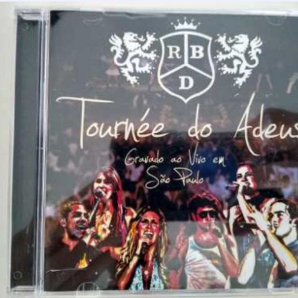 cd rbd - turnê do adeus