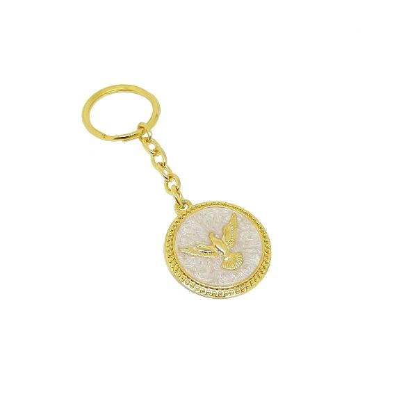 Chaveiro para chave pomba da paz divino espirito santo