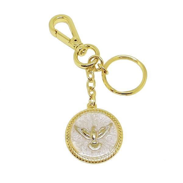 Chaveiro para chaves pomba da paz divino espirito santo