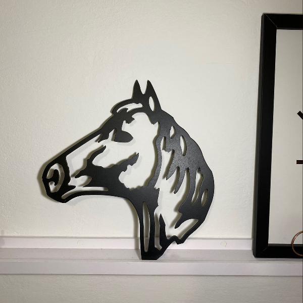 Decoração cavalo mdf