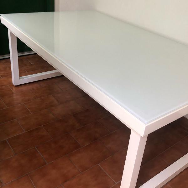Mesa jantar branca