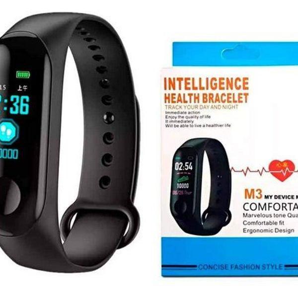 Smartband m3 pulseira inteligente monitor cardíaco
