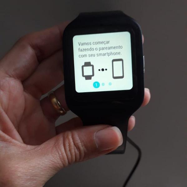 Sony smartwatch 3 swr50 original 2 pulseiras