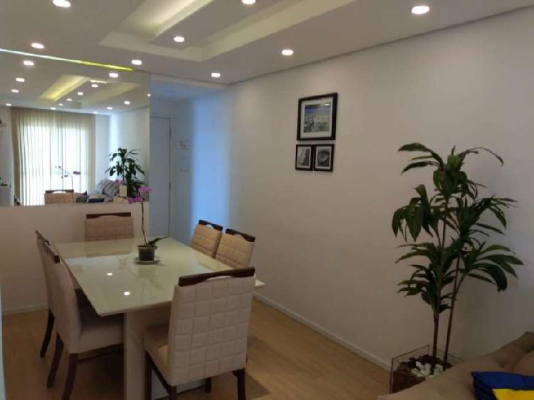 Apartamento 2 dormitórios mobiliado 55 metros com lazer um