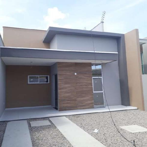 Casa nova/ótima localização messejana- fortaleza - ceará
