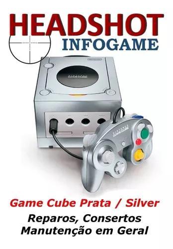 Consertos reparos manutenção nintendo game cube prata