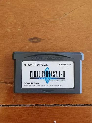 Final fantasy i-ii 34a game boy advance gba