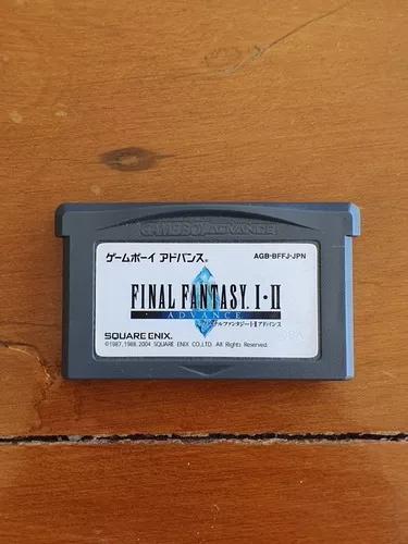 Final fantasy i-ii a9a game boy advance gba