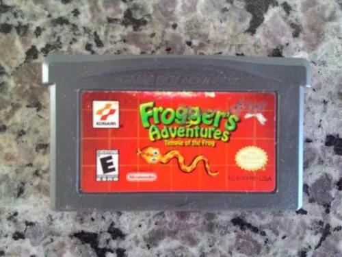 Jogo frogger adventures do game boy advance / gba (original)