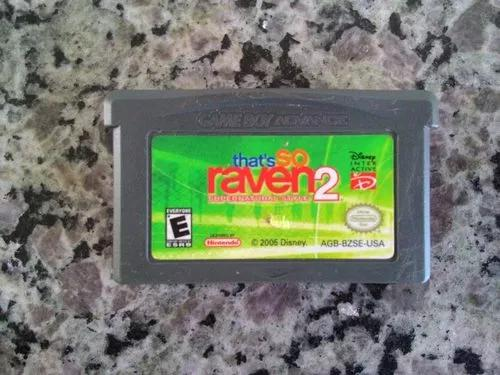 Jogo that's so raven 2 do game boy advance / gba (original)