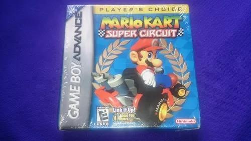 Lacrado mario kart super circuit original game boy advance