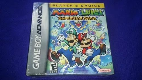 Mario & luigi superstar saga original, lacrado, game boy adv