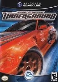 Need for speed: underground - game cube - usado
