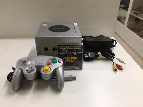 Nintendo game cube desbloqueado com cartão sd