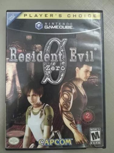 Resident evil 0 zero nintendo game cube.