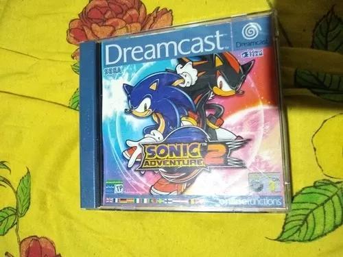 Sonic adventure 2 europeu dreamcast