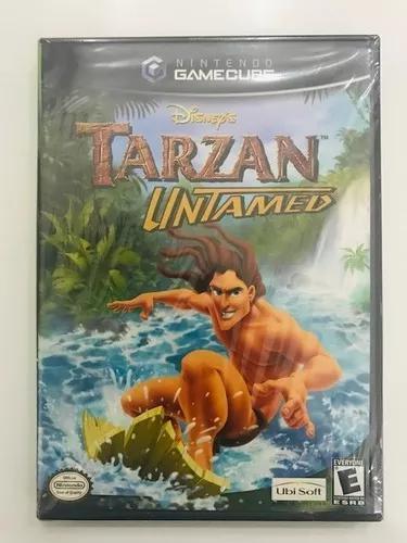 Tarzan untamed original game cube americano completo!
