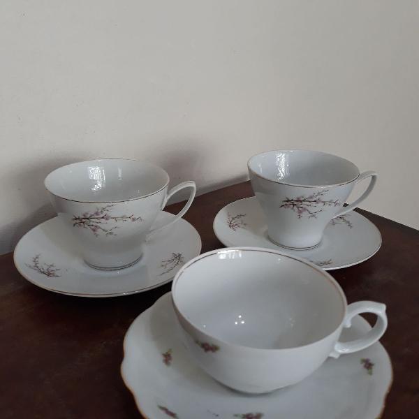 3 xícaras de chá renner/steatita