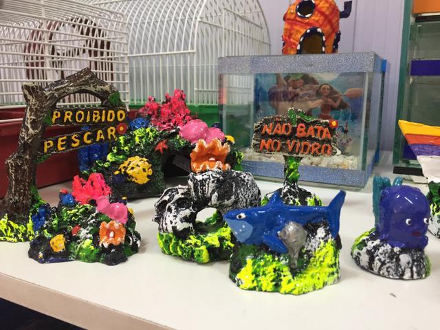 Acessórios para aquário