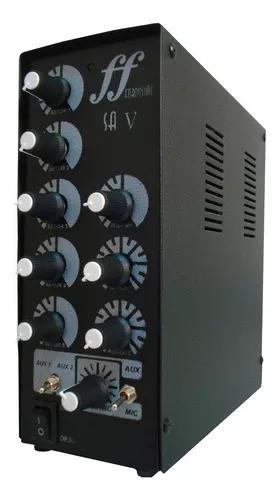 Amplificador e setorizador de 5 canal caixa de som ambiente
