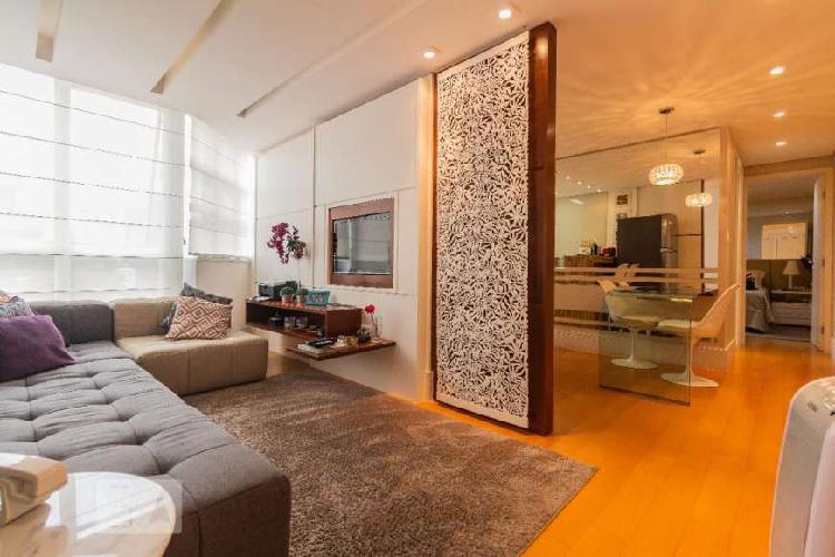 Apartamento à venda - campo belo, 1 quarto, 47 m2
