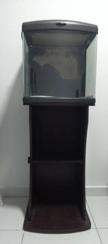 Aquário Curvo Boyu Mt 50 - 80 Litros com móvel