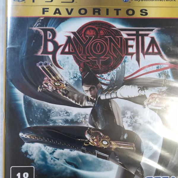 Bayonetta - jogo playstation 3 (ps3)
