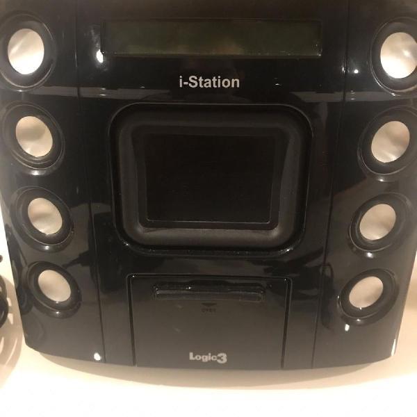 Caixa de som ipod caixa de som para iphone e ipod em