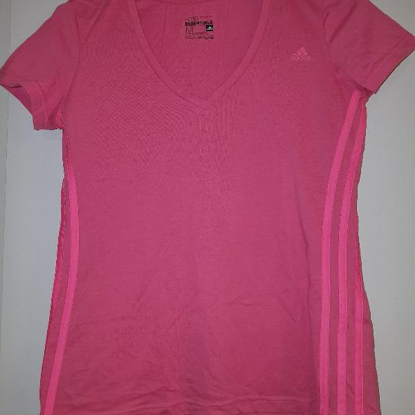 Camisa gola v original adidas