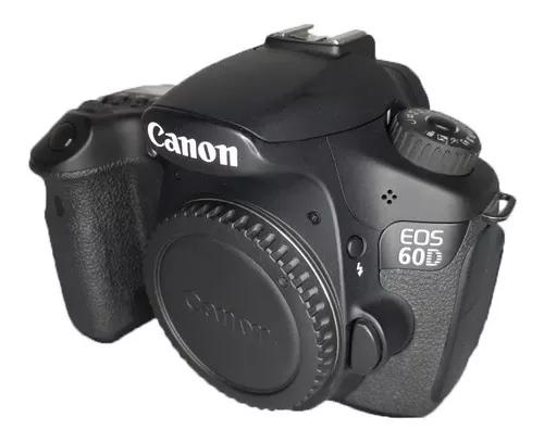 Canon 60d impecável usada somente corpo