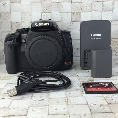 Câmera canon eos kiss digital x
