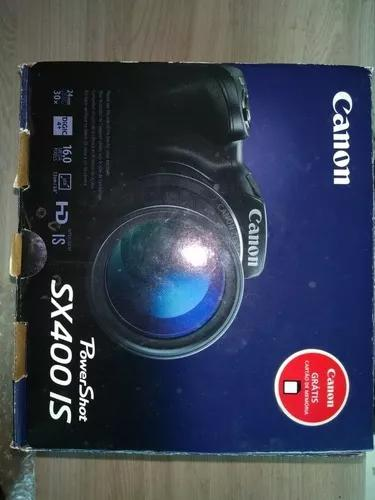 Câmera canon powershot sx400is + case bolsa brinde