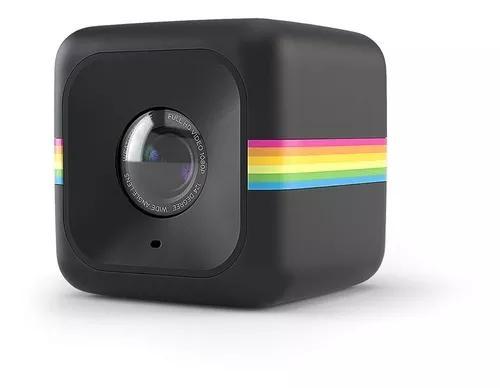 Câmera de ação polaroid cube act ii hd 1080p - preta -