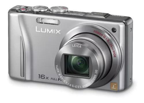 Câmera digital panasonic lumix dmc-zs10 lente leica gps