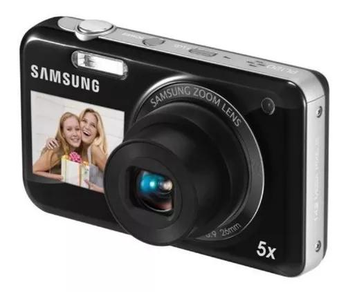 Câmera digital samsung pl 120 - 5x com 2 telas.