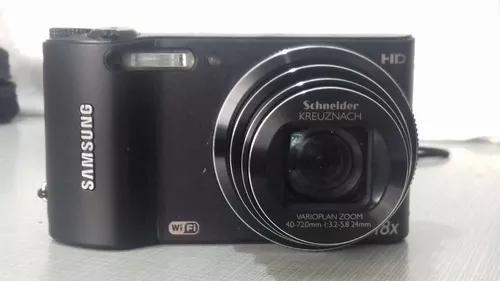 Câmera digital samsung wb150f smart 14.2mp, c/ defeito
