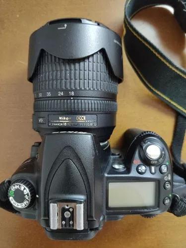 Câmera nikon d-90 usada + lente 18-105 mm