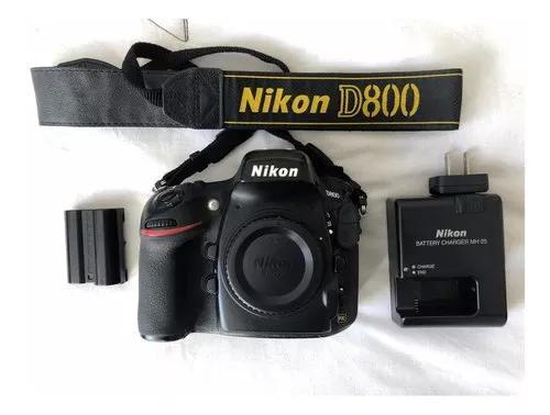 Câmera nikon d800 full frame super nova