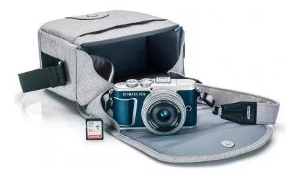 Câmera olympus e-pl9 14-42mm (estojo+m