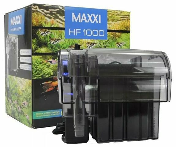 Filtro maxxi power hf-1000 800l/h 110v para aquários de