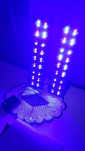 Kit 2 luminarias aquário led cree 80cm - aqua lumini tech