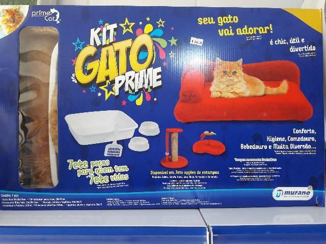 Kit gato com 7 peças