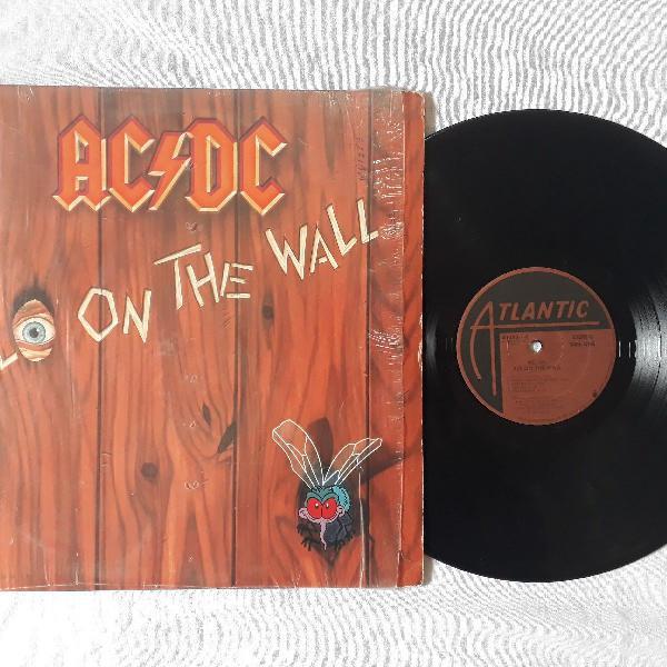 Lp disco de vinil ac/dc fly on the wall importado!