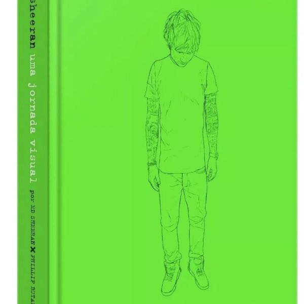 Livro ed sheeran uma jornada visual