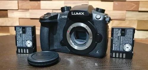 Lumix gh5 (4k 60fps) panasonic + bateria extra (novíssima)