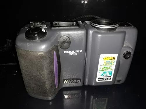 Máquina fotográfica câmera digital coolpix 995 nikon ñ