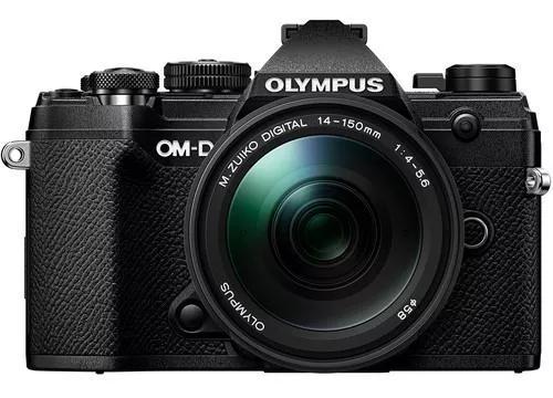 Olympus om-d e-m5 mark iii mirrorless camera com 14-150mm