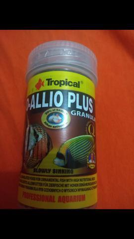 Ração tropical dallio plus